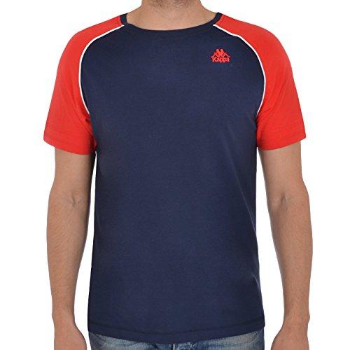Kappa -  T-shirt - Maniche corte  - Uomo Navy Small