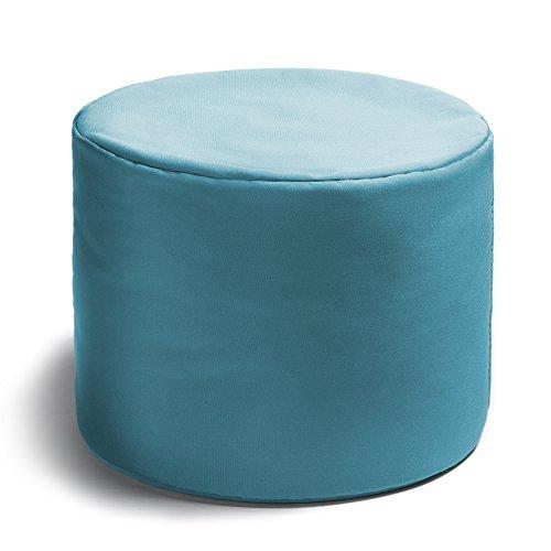 Jaxx Spring Indoor/Outdoor Bean Bag Ottoman, Light Blue (Jaxx Modular compare prices)