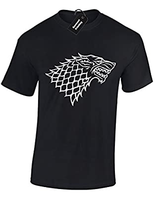 Direwolf House of Stark Sigil Game of Thrones Inspired Gift For Men & Teenagers T-Shirts Tops