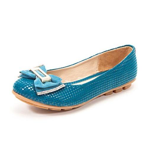 Marc Loire Women's Faux Leather Flats Flats-Shoes