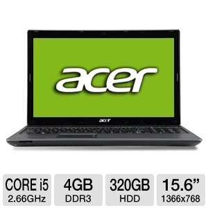 Acer Aspire AS5733-6437 15.6 Notebook PC