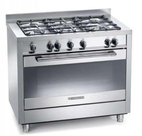 Cucina a Gas Prezzo: Cucina a gas Tecnogas Heavy Duty PTV1098XS ...