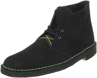 Clarks Men's Desert Boot,Jamaican Black Suede,13 M US