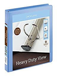 [IN]PLACE Heavy-Duty View Binders with EZ Comfort D-Ring 1\