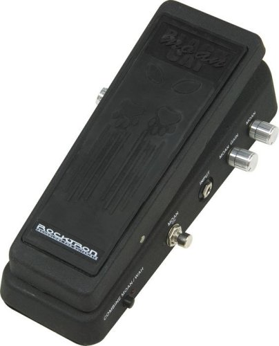 Rocktron Black Cat Moan Wah Pedal with Distortion Black