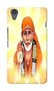 CimaCase Sai Baba Designer 3D Printed Case Cover For OnePlus X