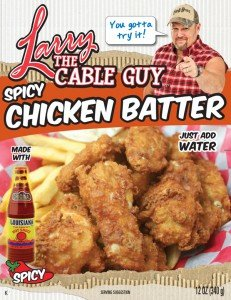 Larry the Cable Guy - SPICY Chicken Batter - 12 Oz - Pack of 2!