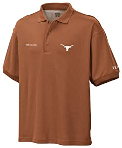 NCAA Texas Collegiate Perfect Cast Polo by Columbia