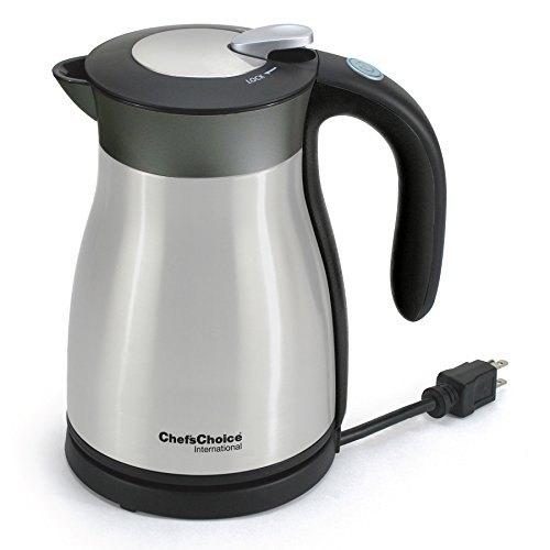 Chef's Choice 692 International Keep Hot Thermal Electric Kettle, 1.5 L, Stainless Steel (Double Walled Electric Kettle compare prices)