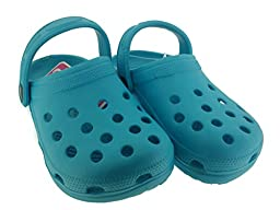 C-Clog Girls Rubber Clogs Size 12 / 13 Turquoise