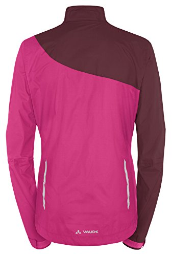 VAUDE Damen Jacke Tremal Zip Off Rain Jacket, Grenadine, 36, 05475 -