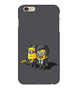 printtech Minions Pulp Fiction Back Case Cover for Apple iPhone 6 Plus