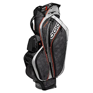 NEW! OGIO CHAMBER Golf Cart Bag w/ Torq Shoulder Strap & 14 Way Top | Cynderfunk