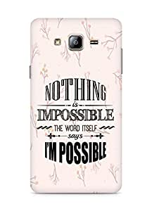 AMEZ Nothing is Impossible Back Cover For Samsung Galaxy ON5