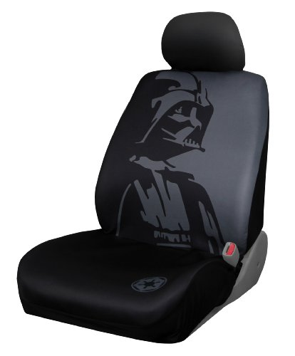 Plasticolor 006922R01 Star Wars Darth Vader Low Back Seat Cover front-161836