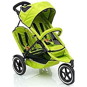 Phil & Teds Green Sport Buggy V2 Stroller & Double Seat