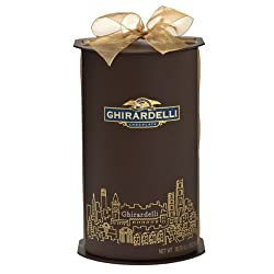 San Francisco Skyline Large Cylinder Gift Box – 80 Count