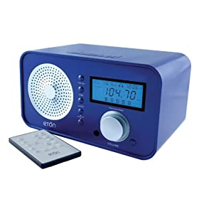 Eton Sound 100 AM/FM Radio, Blue