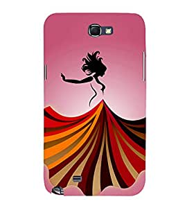 Dance Baby Dance 3D Hard Polycarbonate Designer Back Case Cover for Samsung Galaxy Note i9220 :: Samsung Galaxy Note 1 N7000