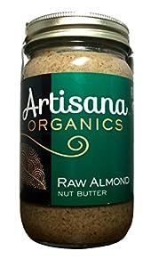 Artisana Organic Raw Almond Butter, 16 oz
