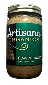 Artisana Organic Raw Almond Butter, 16 oz