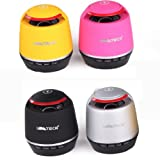 LIMTECH® B3 jambox style mini bluetooh Speaker with Rechargeable Battery wireless bluetooth speaker with Handsfree Mic (Black)