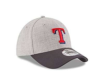 MLB Texas Rangers Gray Change Up Classic 39Thirty Stretch Fit Cap
