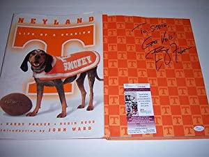 Phillip Fulmer Tennessee Volunteers Jsa coa Signed Book - Autographed College... by Sports+Memorabilia