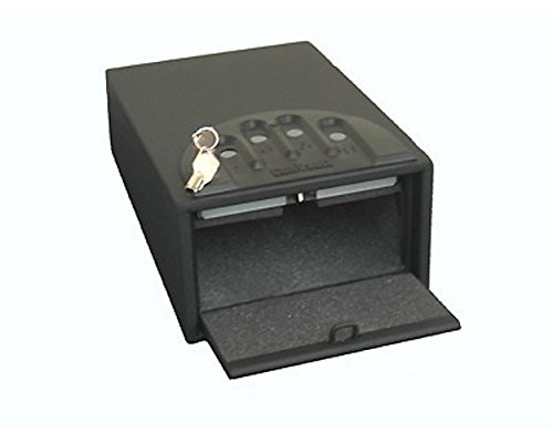 "GunVault GV100S Mini Safe. Quick access when things go ""bump"" in the night."