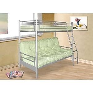 alex futon sofa bed metal bunk bed frame kitchen home