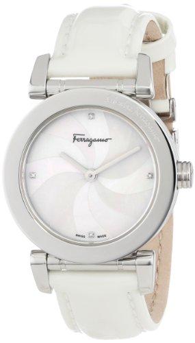 Ferragamo Women's F50SBQ9901I SB01 Salvatore Mother-of-Pearl Leather Watch