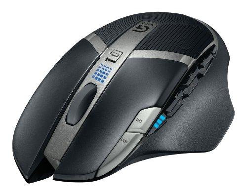 LOGICOOL ワイヤレス ゲーミングマウス 最大稼働250時間 G602