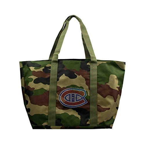 nhl-montreal-canadiens-camo-tote-24-x-105-x-14-inch-olive-by-littlearth