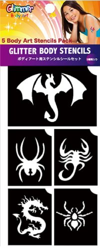 Dragons & Spiders Stencils - 1