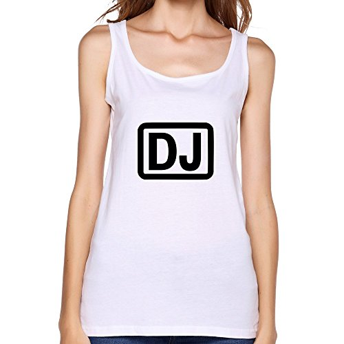 Women DJ Music Geek Tank Tops