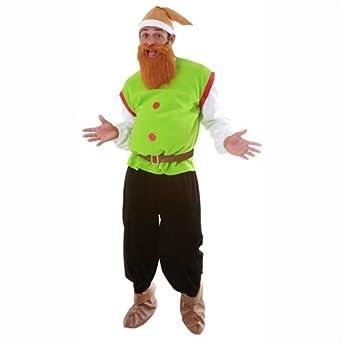 Dress Up America Adult Elf Set, Multi-Colored, Small