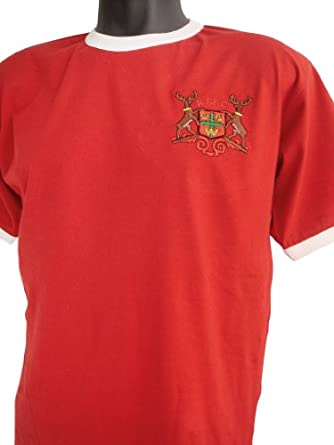 Retro Nottingham Forest 1970s Football T Shirt New Sizes S-XXL Embroidered Logo