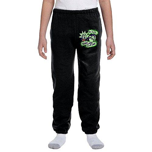 Jackson US Animated Science Fiction Sitcom Youth Slim Fit Jogger Sweatpant Training Pant XL
