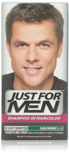Just for Men Shampoo In Hair Color, Dark Brown