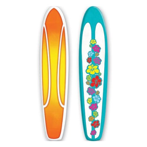 Jointed Surfboard Party Accessory (1 count) (1/Pkg)