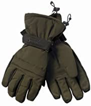 Seeland Thresfield Gloves - L: Green/Brown