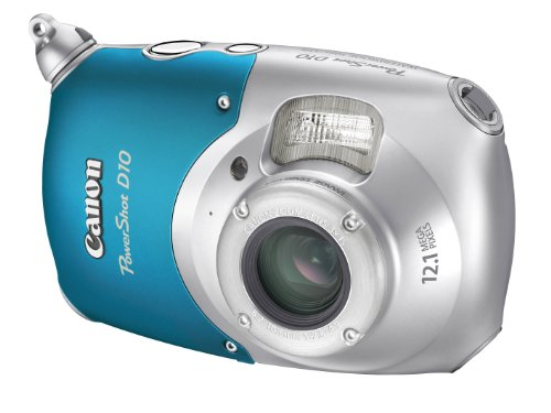 Canon PowerShot D10 Digital Camera (12.1 MP, 3.0x Optical Zoom) 2.5