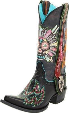 Ariat Women's Indian Sugar Soule Boot,Black,11 5E US