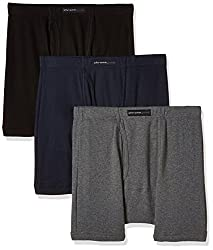 Chromozome Men's Cotton Trunk (Pack of 3) (8902733343725_IT 10_Small_Coal, Navy and Black)