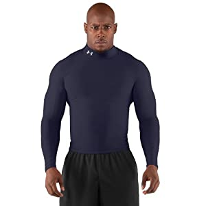 Under Armour Men's ColdGear® Long Sleeve Compression Mock Large Midnight Navy