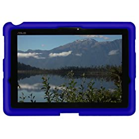 Bobj Heavy Duty Case for ASUS Transformer Prime (TF201T) and Pad300 (TF300T) - Bobj protective cover - Batfish Blue