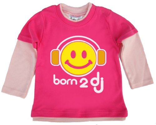 Dirty Fingers - Born 2 DJ - Baby Clothing, Layered