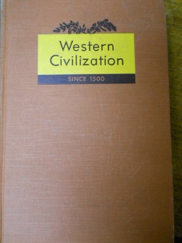 Image for Western Civilization-Since 1500