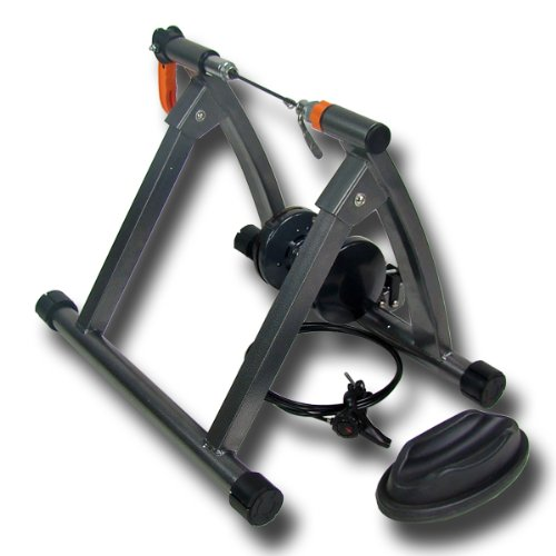 7 Level Bike or Bicycle Trainer Stand for Resistance and Indoor Exercise or Training