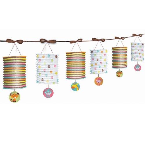 Amscan - Fisher Price Baby Shower Paper Lantern Garland front-514974
